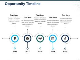 Opportunity Timeline Ppt Ideas