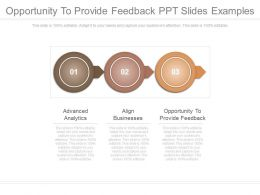 Opportunity To Provide Feedback Ppt Slides Examples