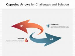 Opposing Arrows For Challenges And Solution