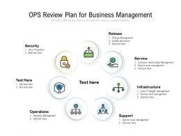 OPS Review Plan For Business Management
