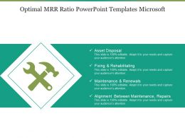 Optimal Mrr Ratio PowerPoint Templates Microsoft