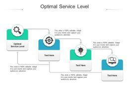 Optimal Service Level Ppt Powerpoint Presentation Slides Vector Cpb
