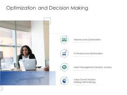 Optimization And Decision Making Infrastructure Engineering Facility Management Ppt Template