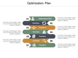Optimization Plan Ppt Powerpoint Presentation Summary Aids Cpb