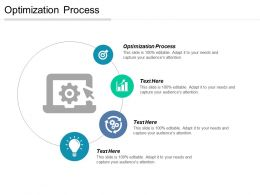 Optimization Process Ppt Powerpoint Presentation Gallery Graphics Cpb