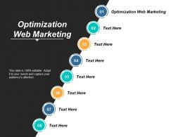 Optimization Web Marketing Ppt Powerpoint Presentation Show Introduction Cpb