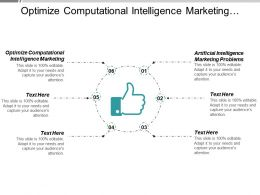 Optimize Computational Intelligence Marketing Artificial Intelligence Marketing Problems Cpb