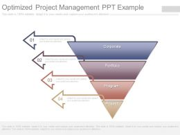 Optimized Project Management Ppt Example