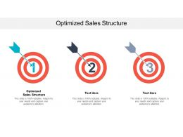 Optimized Sales Structure Ppt Powerpoint Presentation File Professional Cpb