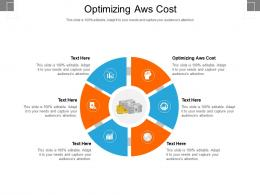 Optimizing Aws Cost Ppt Powerpoint Presentation Ideas Layout Ideas Cpb