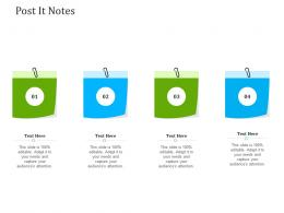 Optimizing It Services For Better Customer Retention Post It Notes Ppt Portrait