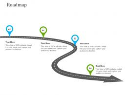 Optimizing It Services For Better Customer Retention Roadmap Ppt Information