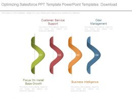 Optimizing Salesforce Ppt Template Powerpoint Templates Download