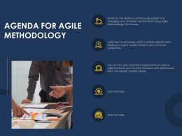 Optimizing Tasks And Enhancing Team Agenda For Agile Methodology Ppts Shows