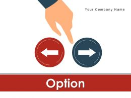 Option Arrow Circle Boxes Business Manager Alternative