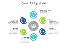 Option Pricing Model Ppt Powerpoint Presentation Layouts Professional Cpb