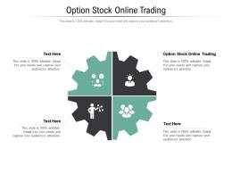 Option Stock Online Trading Ppt Powerpoint Presentation Show Microsoft Cpb