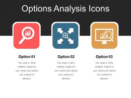 Options Analysis Icons