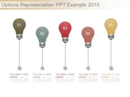 Options Representation Ppt Example 2015