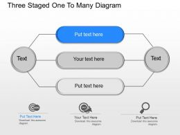 or_three_staged_one_to_many_diagram_powerpoint_template_Slide01