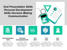 Oral Presentation Skills Personal Development Skills Decision Making Communication Cpb