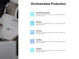 Orchestrated Protection Ppt Powerpoint Presentation Layouts Graphics Tutorials Cpb