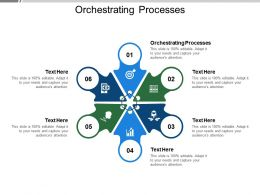 Orchestrating Processes Ppt Powerpoint Presentation Infographic Template Cpb