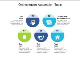 Orchestration Automation Tools Ppt Powerpoint Presentation Inspiration Portfolio Cpb