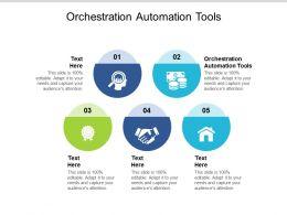 Orchestration Automation Tools Ppt Powerpoint Presentation Inspiration Portfolio Cpb
