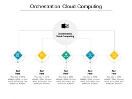 Orchestration Cloud Computing Ppt Powerpoint Presentation Model Grid Cpb