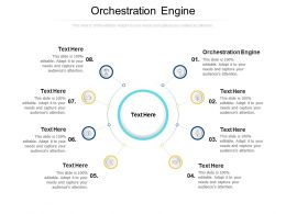 Orchestration Engine Ppt Powerpoint Presentation Gallery Background Designs Cpb