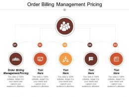 Order Billing Management Pricing Ppt Powerpoint Presentation Gallery Infographic Template Cpb