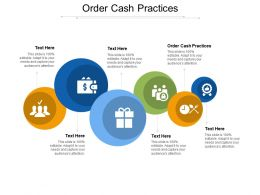 Order Cash Practices Ppt Powerpoint Presentation Inspiration Graphics Cpb