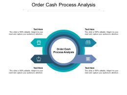 Order Cash Process Analysis Ppt Powerpoint Presentation Model Graphics Tutorials Cpb