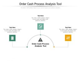Order Cash Process Analysis Tool Ppt Powerpoint Presentation Gallery Grid Cpb