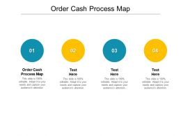 Order Cash Process Map Ppt Powerpoint Presentation Slides Show Cpb