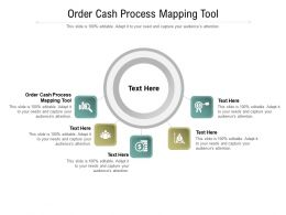 Order Cash Process Mapping Tool Ppt Powerpoint Presentation Model Topics Cpb