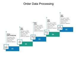 Order Data Processing Ppt Powerpoint Presentation Gallery Icons Cpb