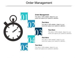 Order Management Ppt Powerpoint Presentation Icon Themes Cpb