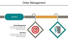 Order Management Ppt Powerpoint Presentation Outline Slide Cpb