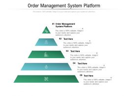 Order Management System Platform Ppt Powerpoint Presentation Inspiration Layout Ideas Cpb