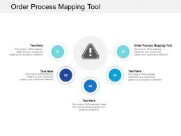 Order Process Mapping Tool Ppt Powerpoint Presentation Ideas Shapes Cpb
