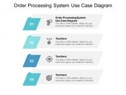 Order Processing System Use Case Diagram Ppt Powerpoint Presentation File Microsoft Cpb