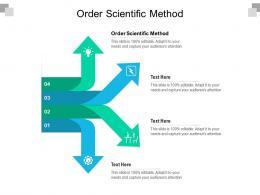 Order Scientific Method Ppt Powerpoint Presentation Summary Graphics Example Cpb
