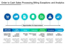 Order To Cash Sales Processing Billing Exceptions And Analytics