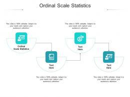 Ordinal Scale Statistics Ppt Powerpoint Presentation Inspiration Templates Cpb