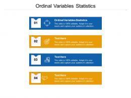 Ordinal Variables Statistics Ppt Powerpoint Presentation Summary Professional Cpb