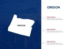 Oregon Powerpoint Presentation PPT Template