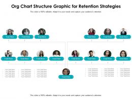 Org Chart Structure Graphic For Retention Strategies Infographic Template