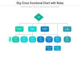 Org Cross Functional Chart With Roles